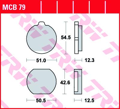 Disques Plaquettes De Freins mcb79 Pour Kawasaki Moto